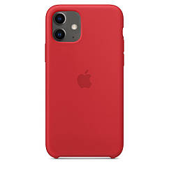 """Apple silicon case iPhone 11 """"Red"""""""