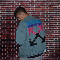 Чоловіча джинсовці в стилі Off White Business | Краща якість!, фото 1