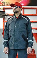 """Куртка чоловіча робоча """"Грант"""" зі світлоповертаючими вставками"""