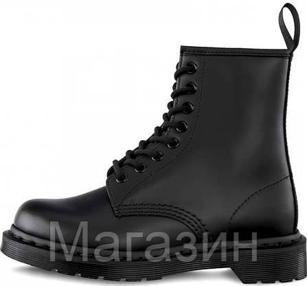 Женские зимние ботинки Dr. Martens 1460 Winter Fur Black Доктор Мартинс С МЕХОМ черные, фото 2