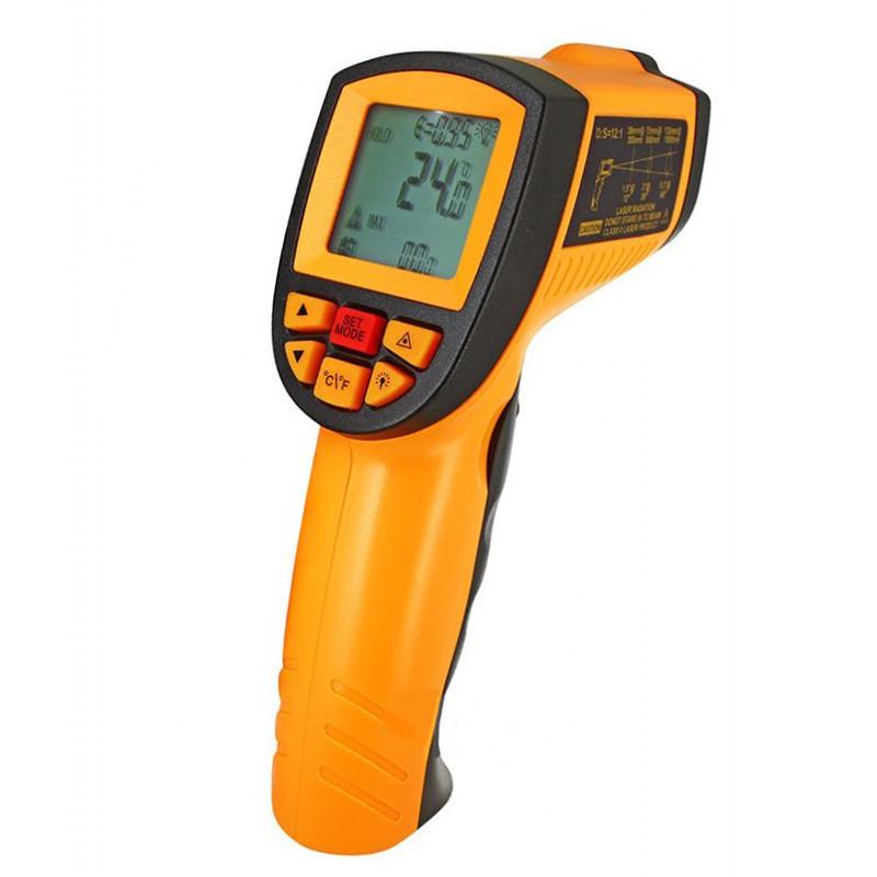 Пирометр инфракрасный WH900 бесконтактный термометр, от -50 до +900°C