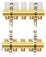 Коллектор двойной с запорными вентилями 7 выходов APC