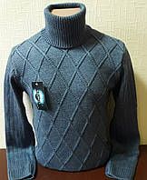 Свитер мужской TAIKO, свитер-гольф шерстяной. Размер L