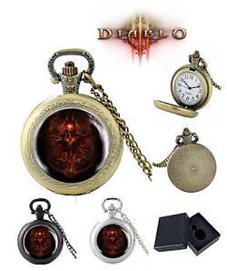Карманные часы Демон Диабло 3 / Diablo III