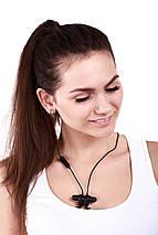 Беспроводные Bluetooth наушники QCY QY12 с магнитными вкладышами (Черный), фото 2