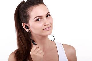 Беспроводные Bluetooth наушники QCY QY12 с магнитными вкладышами (Черный), фото 3