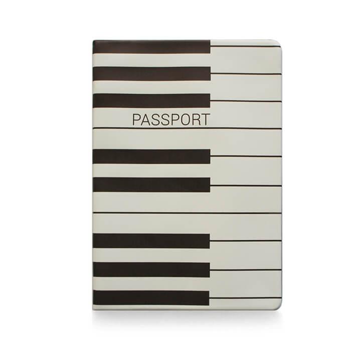 Обложка для паспорта ZIZ Пианино