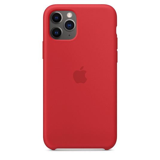 """Apple silicon case iPhone 11 Pro """"Red"""""""