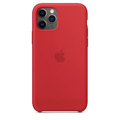 "Apple silicon case iPhone 11 Pro ""Red"""