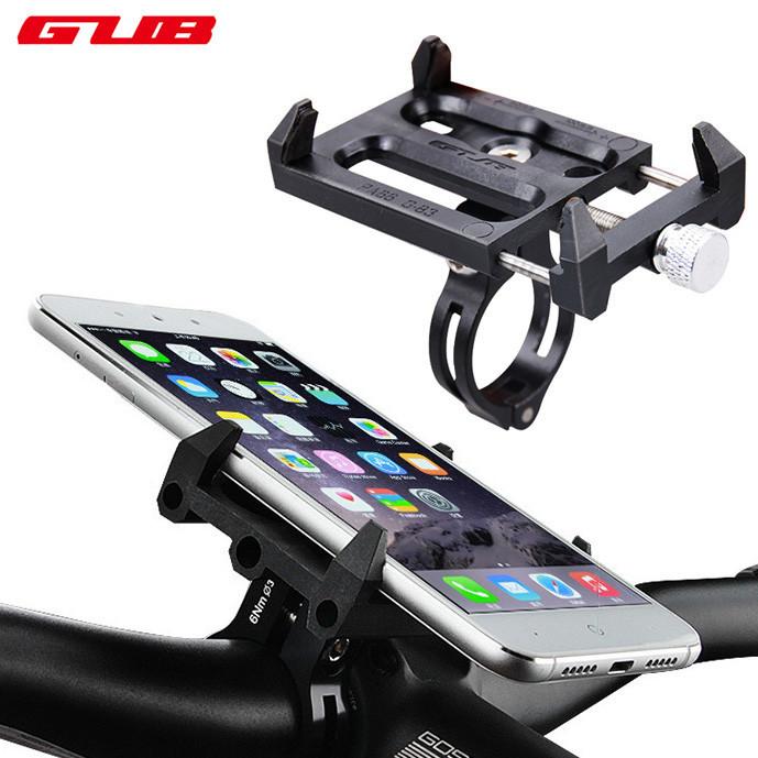 Держатель / крепление универсальное GUB G-83 для телефона (ширина ≤ 10 см) на велоруль / вынос / рулевую