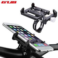 Держатель / кріплення універсальне GUB G-83 для телефону (ширина ≤ 10 см) на велоруль / винос / рульову