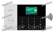 Сигнализация GSM + WiFi 105 (PG-105) + 3 проводные зоны. Охрана для дома, офиса, гаража, дачи, фото 2