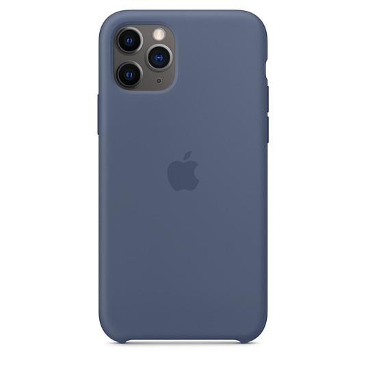 "Apple silicon case iPhone 11 Pro ""Alaska Blue"""