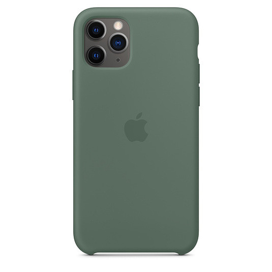 "Apple silicon case iPhone 11 Pro Max ""Pine Green"""