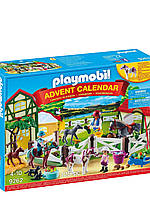 Рождественский календарь Playmobil конюшня  ( адвент календарь ,PLAYMOBIL Advent Calendar - Horse Farm)