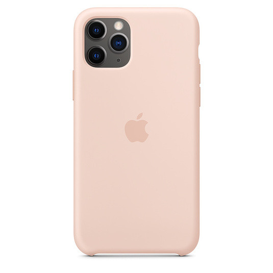 """Apple silicon case iPhone 11 Pro Max """"Pink Sand"""""""