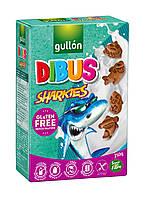 Печенье Gullon Dibus Sharkies без глютена 250 г Испания