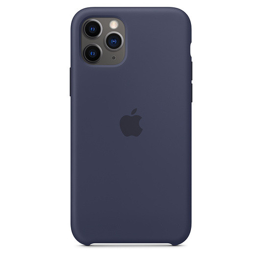 "Apple silicon case iPhone 11 Pro Max ""Midnight Blue"""