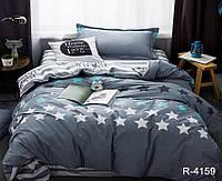 Семейный комплект постельного белья с компаньоном Ранфорс R4159