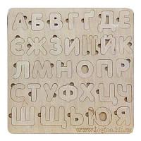 Вкладыш Алфавит деревянный (УКР)