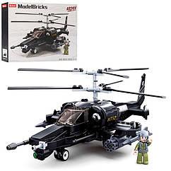 Конструктор SLUBAN M38-B0752 военный вертолет 330 дет.