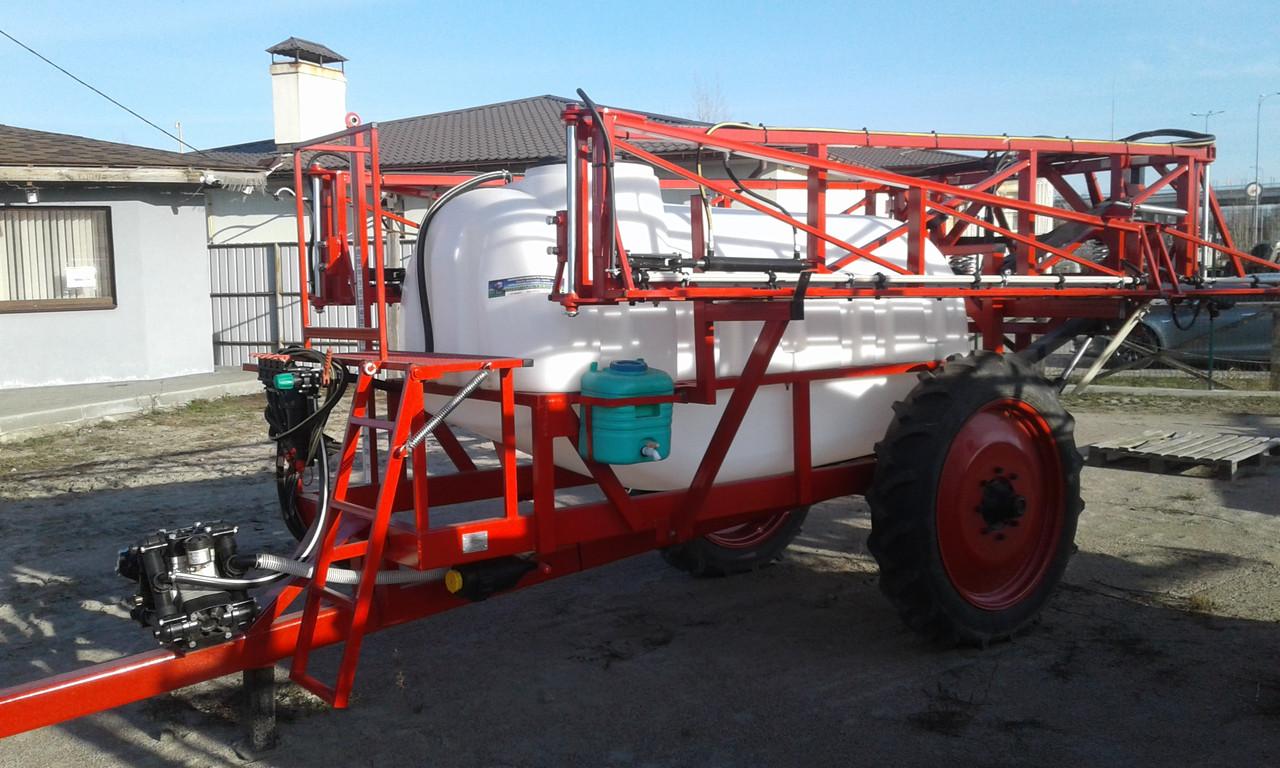 Переобладнання і ремонт причіпного обприскувача ОП-2000