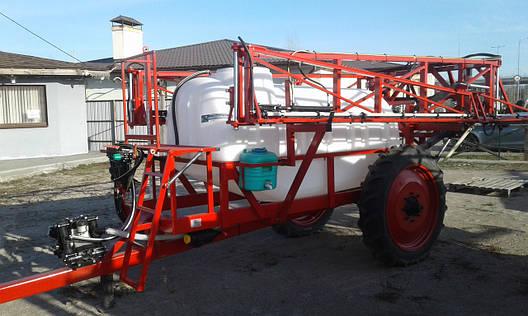 Переоборудование и ремонт прицепного опрыскивателя ОП-2000, фото 2