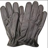Мужские кожаные перчатки с флисовой подкладкой AL3020
