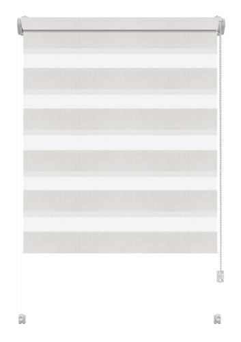 Рулонная штора De Zon Zebra Mini 47х190 см белая