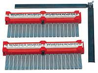 Линейка профильная WURTH, набор профильных шаблонов для кузовного ремонта