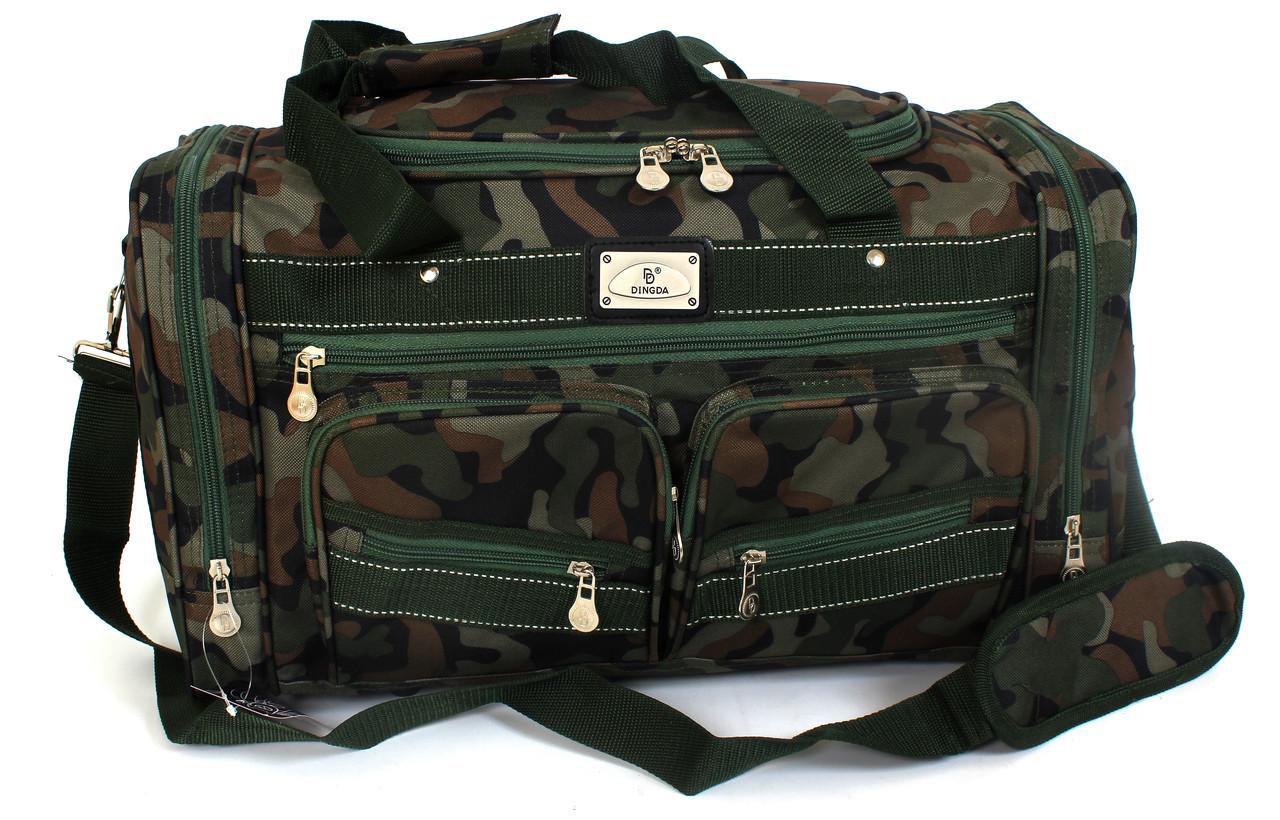 Дорожная сумка из камуфлированной ткани Dingda YR 5918 (60 см)