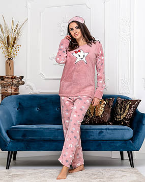 Мягкая приятная пижама из плюша