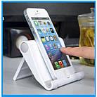"""Підставка для мобільного телефону / планшета (до 11"""") розкладні (регулювання кута нахилу / 6 кольорів), фото 5"""