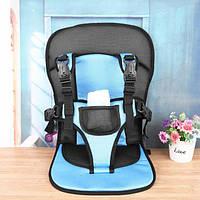 Детское бескаркасное автокресло Multi Function Car Cushion Blue