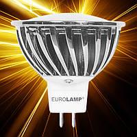 Светодиодная лампа  EUROLAMP ECO MR16 GU5,3 7W 220V
