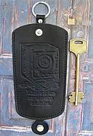 Чехол для ключей большой черный  Ключи от моего сейфа, фото 1