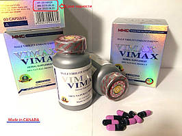 Вимакс Vimax БАД - препарат натуральный для повышения мужской потенции, сроки годности на фото