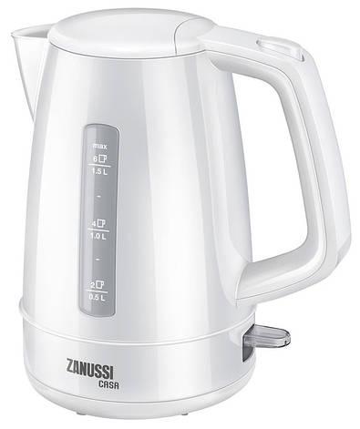 Електрочайник Zanussi ZWA 1260 1.5 л Білий, фото 2