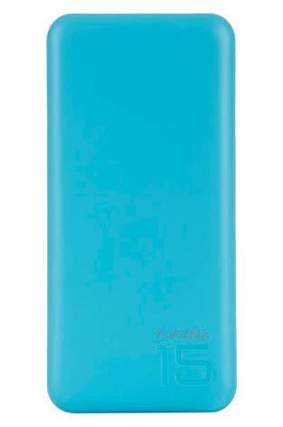 УМБ Puridea S3 15000 мАч Li-Pol Голубой, фото 2