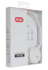 Наушники ERGO VM-330 White (белый), фото 3