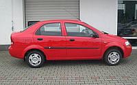 Молдинги на двері для Сhevrolet Aveo T200 сєдан 2002-2008