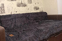 Покрывало на кровать меховое 160х220, фото 1