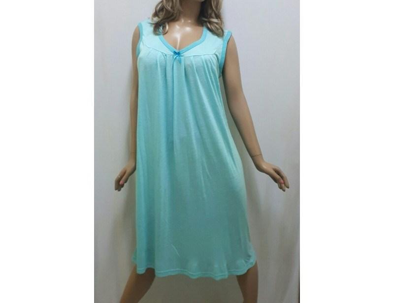 Ночная рубашка женская из легкой вискозной ткани, размеры от 50 до 56, Украина