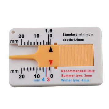 Инструмент для измерения глубины протектора шин, глубиномер протектора