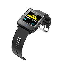 Умные часы Lemfo CV16 Silicon с двойным дисплеем (Черный), фото 3