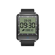 Умные часы Lemfo CV16 Silicon с двойным дисплеем (Черный), фото 2