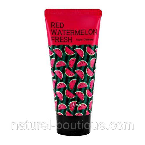 Пінка для обличчя Esfolio Red Watermelon Fresh Foam Cleanser з екстракт кавуна