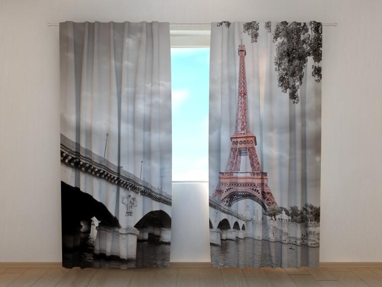 "Фото шторы ""Эйфелева башня 3"" 250 х 260 см"