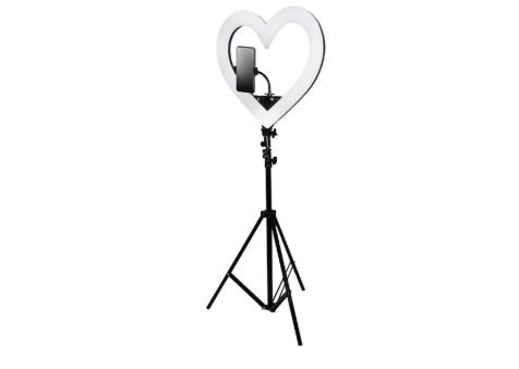 Кольцевая светодиодная лампа на штативе для макияжа
