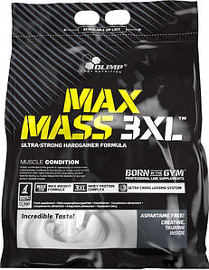 Гейнер Olimp MAX Mass 3XL, 6 кг Ваниль